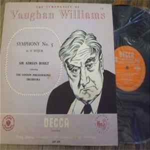 Vaughan Williams / Sir Adrian Boult Conducting The London Philharmonic Orchestra - Symphony No. 5 In D Major mp3